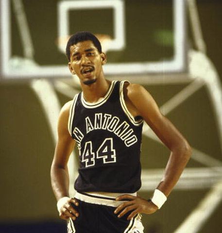 George Gervin  Known as The Iceman, Gervin started his professional career in the ABA before making the move over to the NBA. During the course of his 14-year career, he averaged at least 14 points per game each season and retired from the NBA with a career average of just a shade over 26 points per game. Despite being widely regarded as one of the best shooting guards in the League (9-time All-Star and 4-time scoring champion), Gervin never made it to the Finals for a shot at solidifying his greatness.
