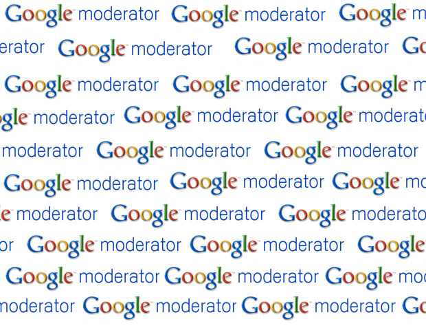 Google Moderator is an online tool from Google that allows you to compile a list of questions from your community/audience. It's a great tool to use at conferences or large group settings to get people's ideas organized into a list whether they're onsite or online.