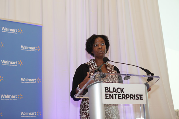 Black Enterprise Editorial Director Sonia Alleyne (pictured) and Caroline V. Clarke, host of Black Enterprise Business Report and a Black Enterprise executive editor served as moderators of the day's event