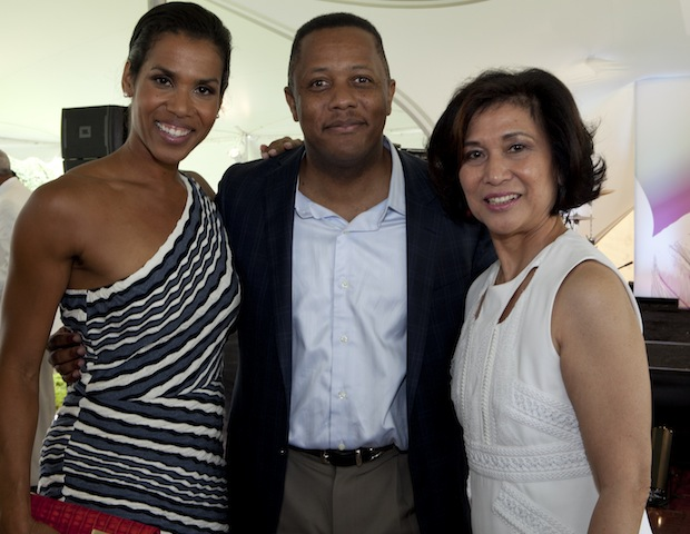 Prominent figures in  business, sports, media and philanthropy came out for the Reginald F. Lewis Foundation Gala Luncheon at the Lewis Estate in East Hampton on Saturday, June 25, 2011. Event chair Leslie Lewis Sword, Lewis' eldest daughter, announced that this year's gala raised more than $665,000 toward a $1 million endowment challenge grant from The Eddie C. and C. Sylvia Brown Family Foundation, in support of the Reginald F. Lewis Museum of Maryland African American History & Culture. Harvard Law School Bussey Professor Emeritus Frank E. A. Sander, who taught and mentored Lewis at Harvard Law, received the Millennium Member Award. Profit Investment Management CEO Eugene A. Profit received the Reginald F. Lewis Award, presented to an African American entrepreneur who has broken barriers to become internationally successful before the age of 50. —Alfred A. Edmond Jr.