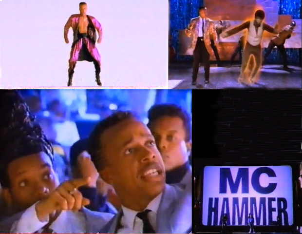 """12) MC Hammer """"Here Comes the Hammer"""" (1991)  Hammer and his entourage enter a haunted house on a dare that leads them on a trip through time and space. With each room of the house being a portal to an alternate world, Hammer has dance-offs with various doppelgangers and the ghostly spirit of James Brown. Pulling off the eight-minute clip hurt Hammer's pocket to the tune of $1.3 million."""