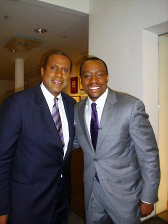 """Our World host Marc Lamont Hill caught up with celebrated journalist Tavis Smiley, Host of the Tavis Smiley Show, to discuss his new book """"Fail Up."""""""
