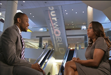 Our World host Marc Lamont Hill sits down with author, attorney, and TV personality Star Jones at the 2011 Black Enterprise Entrepreneurs Conference.