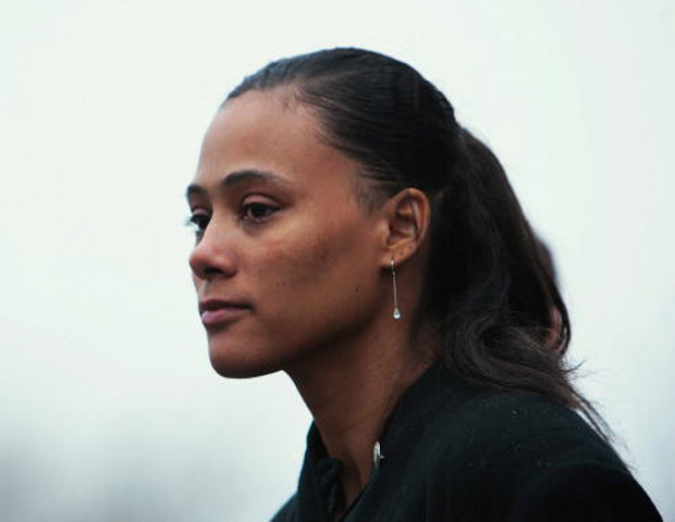 Track star Marion Jones