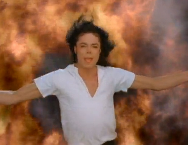 """11) Michael Jackson """"Black or White"""" (1991)  Featuring an 11-year-old Macaulay Culkin as a rambunctious adolescent, Jackson's 1991 clip was a multicultural smorgasbord of images that ranged from African and Indian to Native American and Asian. The song's message of racial equality was carried home in the closing scene of the six-minute video as the faces of different subjects—including supermodel Tyra Banks—morphed into various ethnicities as they mouthed the chorus.  Premiering simultaneously in 27 countries, """"Black or White"""" drew in a reported 500 million viewers, the most for a music video viewing. The cost of the hi-tech worldwide event was a reported $1.5 million."""