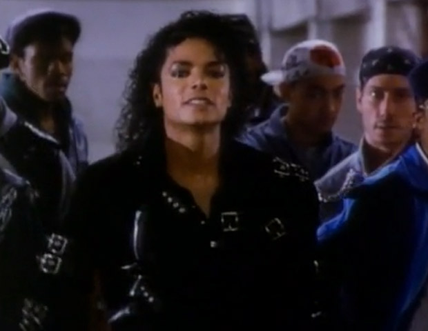 """6) Michael Jackson """"Bad"""" (1987)  In this short directed by celebrated filmmaker Martin Scorsese, Jackson plays Darryl, a boarding school student that comes home only to discover ne no longer fits in with his friends from the old neighborhood. A young Wesley Snipes stars as the main protagonist, who questions how """"bad"""" Darryl is. The 18-minute production concludes with an underground dance off in the New York City transit system that's a nod to West Side Story. The total video cost is in the $2.2 million range."""