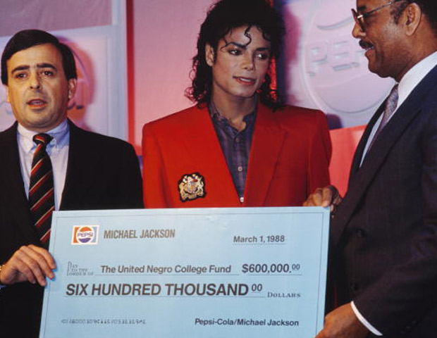 Michael Jackson the United Negro Fund