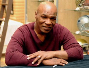 Boxing hall of famer Mike Tyson