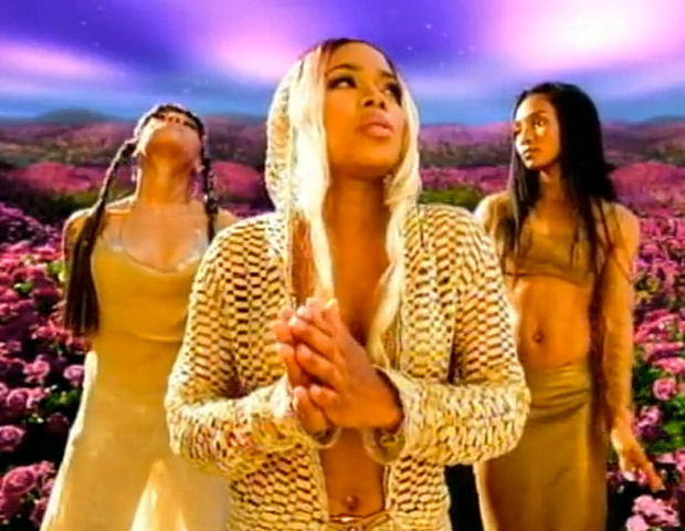 "9) TLC ""Unpretty"" (1999)  Despite the song's the title, the video for the TLC single was actually quite pretty. Computerized ladybugs and butterflies filled the screen as the trio sang out against self-hate and urban violence to the tune of a $1.6 million video budget."