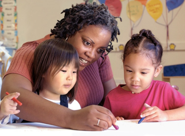 No. 2. Early Childhood Education   African Americans with a degree in early childhood education earn an average salary of $35,000, while Whites earn an average of $36,000.