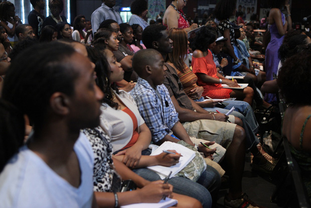 Bill Duke's Actors Boot Camp workshop was filled with aspiring and working talent. (Photo by Terrence Jennings)