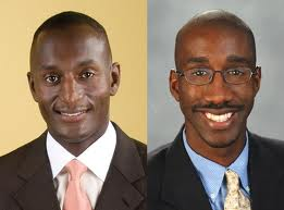 Authors of Black Faces in White Places, Randal Pinkett and Jeffrey Robinson