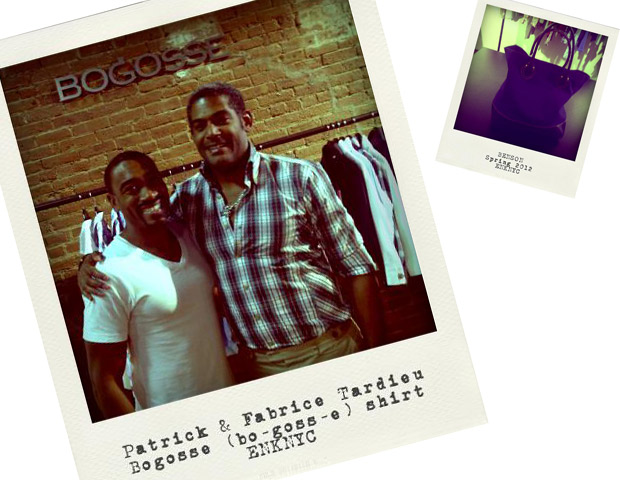 Patrick & Fabrice Tardieu at the Bogosse booth