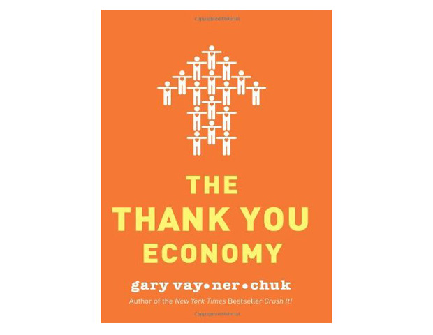 The Thank You Economy by Gary Vaynerchuck Vaynerchuck's book shows businesses how to cultivate a sense of familiarity and intimacy characteristic of mom-and-pop stores using social media. He argues that social media has made our communities smaller in a way and that the success of today's businesses are often dependent on word of mouth via things like Twitter and Facebook. Vaynerchuck's philosophy is to treat customers like people and to give your business a personal touch.