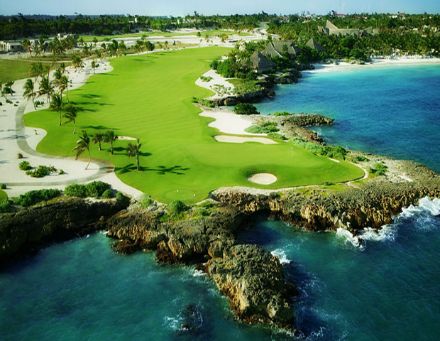 Choose from five locations surrounding Golf at Punta Espada in Cap Cana     Located on the eastern tip of the Dominican Republic, this tourist it-spot makes for a relaxing yet eventful vacation.  Based on your preferences, choose one of five (or more) places— Secrets Sanctuary, Caletón Villas, Golden Bear Lodge, Eden Roc, and Fishing Lodge (open October 2011). As for golf, Punta Espada is recognized as the best golf course in the Caribbean and Mexico. This par 72 course hosted the PGA Tour's Champions Tour in 2008.