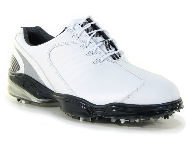 THE SHOES  Everyone may have had different opinions on which company had the best designs, but when it came to who made the best golf shoe, all votes from the pros were for the FootJoy brand. Their FJ Sport ($145) with its waterproof leather upper, mesh liner to allow your feet to breathe, and extra cushioning with arch support inside was easily the winner for most comfortable shoe.
