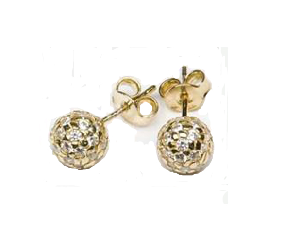 PERFECT GEM: Ladies Golf Gold Plated Golf Ball Stud Earrings ($114.99) Pretty studs can double as your good luck charm and nostalgic keepsake you can cherish the entire weekend and beyond.