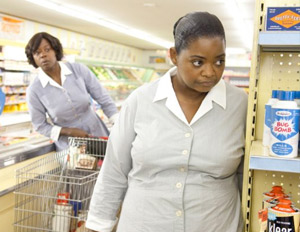 Octavia Spencer and Viola Davis in a scene from 'The Help'