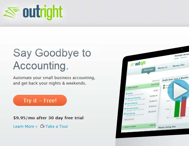 Outright: This money management tool can be a good alternative or supplement to Quicken. It's especially good for keeping your taxes in order.