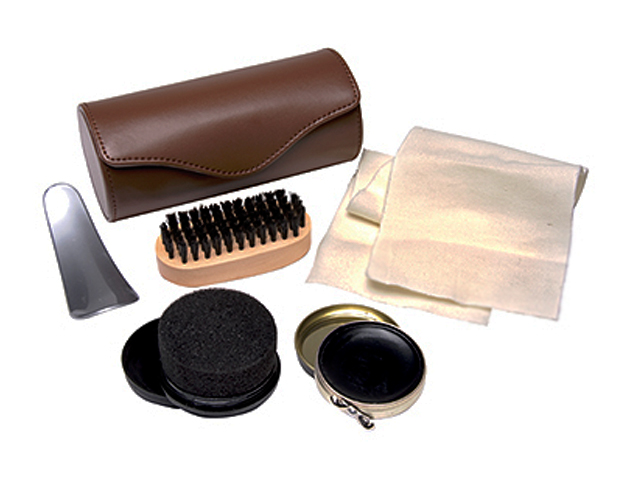 SHOE SHINE: What's a great suit or business casual look without a great shoe? And to keep them up to par, a good emergency shine kit can come in handy. Try the easy-to-use Harry Koenig Shoe Shine Kit ($13.95; Amazon), which comes with polish, brush, resealable applicator, buffing cloth, and shoe horn in a simple carrying case.