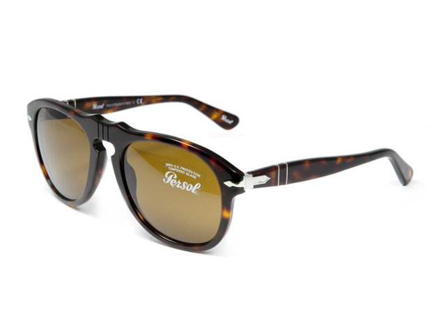 SUNGLASSES  The Persol PO0649 Crystal shades ($360) were a favorite for Steve McQueen, but have since become the brand of the new jetsetters like Kanye West, Chris Brown, Maxwell, Beyoncé, Jay-Z, and the days where I can get my hands on a buddy pass—me.