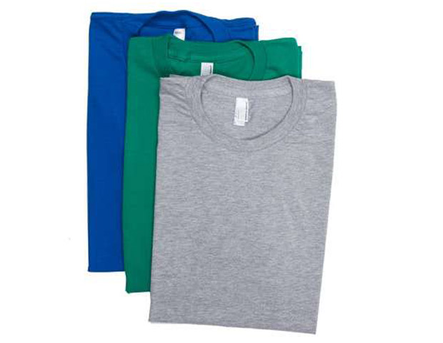 COTTON T-SHIRTS  With an activity-packed day under the sun you want your clothing to be comfortable, stylish, and lightweight, so American Apparel's fine jersey short sleeve T-shirt ($48, on sale from $54) are great fitted tees that comes in a large assortment of multi color three packs that fit the bill.
