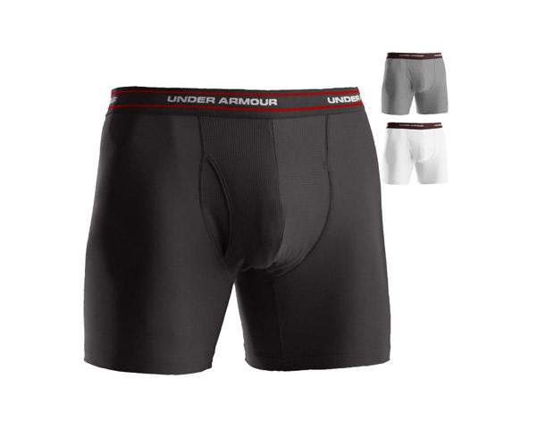 "THE UNDERWEAR  You do research to figure out what the best socks, gloves, and clubs are; so why wouldn't you do the same for your underwear? The pros I spoke to made it a point to say ""don't forget the underwear"" and I most certainly have not. The pair I felt the most comfortable in was the Under Armour Men's O Series Boxerjock ($20). The boxers are made to stay in place without bunching, have moisture wicking technology to prevent overheating and chafing, as well as Anti-Odor technology to prevents the growth of odor causing microbes."