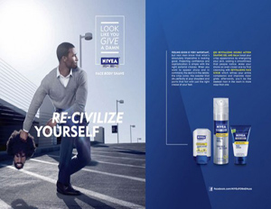 Nivea apologizes for recent 'Re-civilized' NIVEA For Men ad (Image: Press)