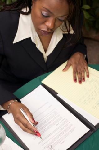paperwork file