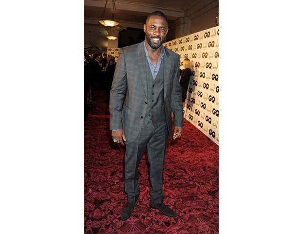 There's almost nothing better than seeing a handsome man in a tailored suit. And for today's look for less, we have the always dapper actor Idris Elba, in his red carpet look at GQ's Men of the Year awards. As part of our BE Polished style series, we highlight key pieces to step your game up for this tailored style statement that will have people turning heads in and out of the office—much like Mr. Elba. —Janell Hazelwood