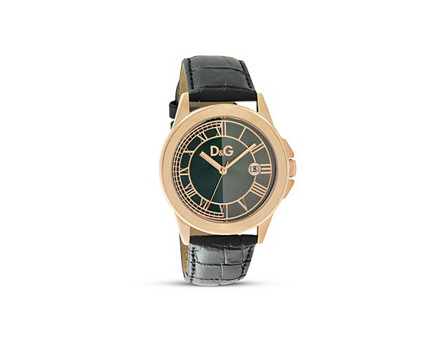 HIS WATCH: There is nothing better than when a great watch peeks from the edge of a man's sleeve, showcasing his style and personality. Any man's watch is an investment piece and should be of good quality. The textured band is a big trend this fall, like this emerald green, crocodile-banded D&G Zermatt watch ($195; Neiman Marcus).