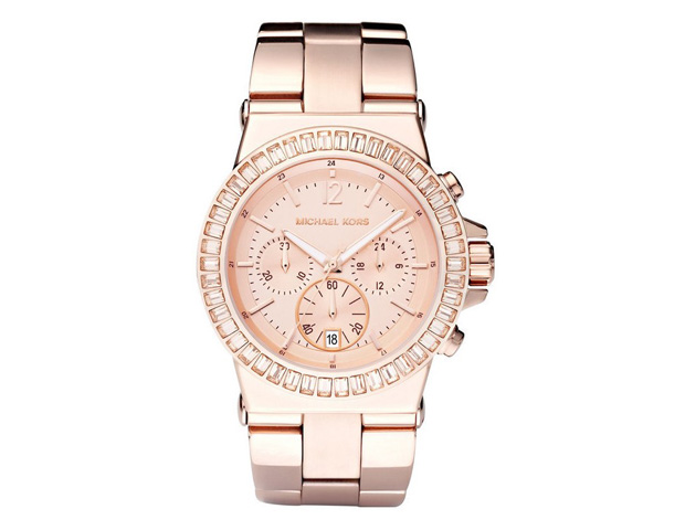 HER WATCH: Whether you're in the boardroom, classroom or in the field, this watch will work magic, adding that special touch to any look. A statement piece in rose gold follows a timeless trend and works well for formal or casual occasions. Try this Michael Kors watch ($295), which flatters all skin tones and works with any ensemble.