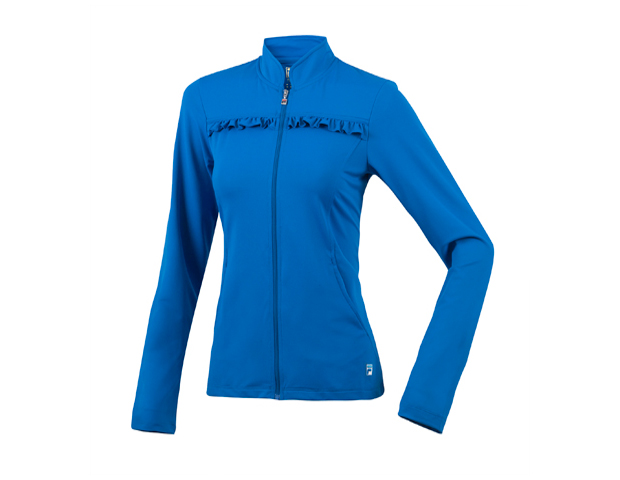 PRETTY GIRL ROCK: FILA Baseline Tennis Jacket ($70) Feel like an authentic athlete in breathable French terry, with a sweet Ceylon blue ruffle surprise.  Plus FILA offers free shipping to all online members. Always a perk for virtual shopping sprees.