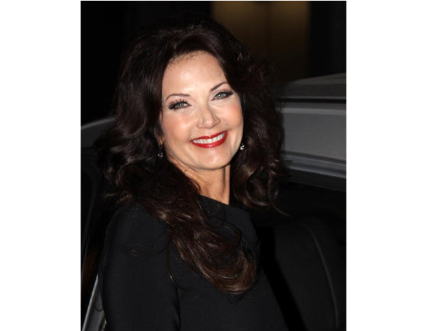 Lynda Carter, 60      The New Adventures of Wonder Woman star is sure enough Latina. Her mother is of Mexican and Spanish descent, while her father is English-Irish. Besides acting in several television series, the 1972 Miss World USA title-holder released three albums, Portrait (1978), At Last (2009) and most recently Crazy Little Things (2011).
