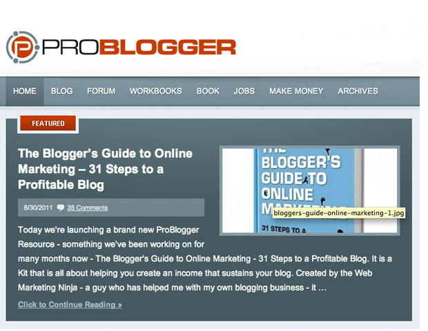 These are just a few basic tips about establishing your business blog. For more great blogging tips follow Darren Rowse and his blog Problogger.  In the comment section we would love for you to share your top business blogging tips.