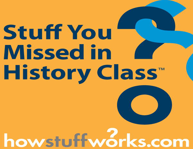 Stuff You Missed In History Class      History seems far from ancient (or stale) when listening to hosts, Sarah Dowdey and Deblina Chakraborty, discuss all things history, from the history of chocolate to the hotly contested debate on whether or not LGBT history should be taught in schools. This podcast, powered by HowStuffWorks, makes for a great supplement to any history textbook.