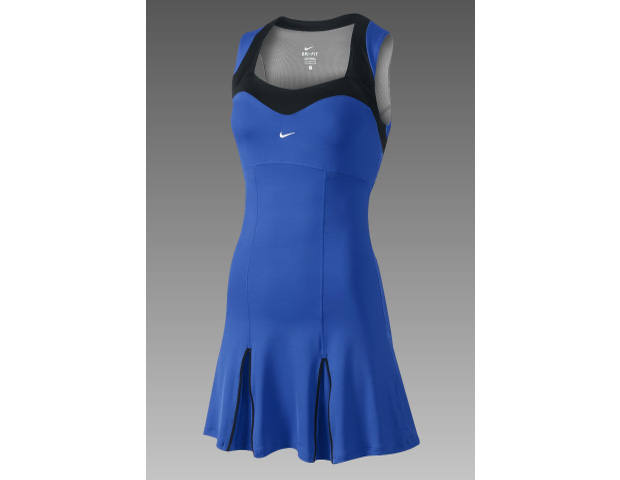 TANGO TIME: NIKE Smash Court Tennis Dress ($90) All hail Serena!  She's our very own tennis icon, curve master, and beautiful bombshell on and off the court. Get her look with this cute little blue number, both fierce and functional.