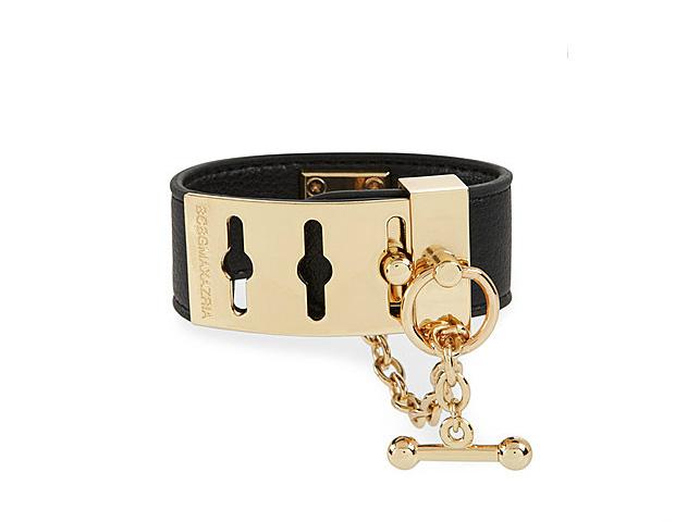 BCBG Black with Gold Buckle Bracelet ($58)