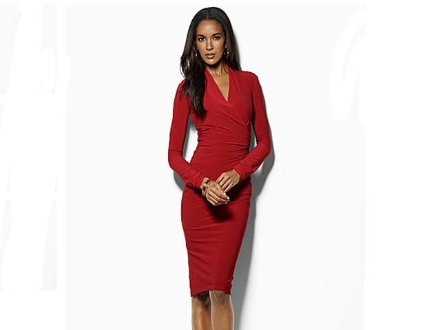 Lauren by Ralph Lauren Casimer Long-Sleeve Wrap Dress ($134)