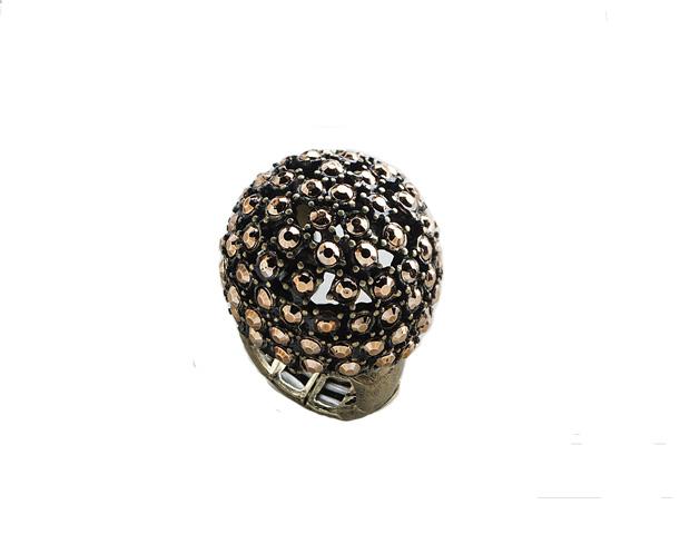 Robert Rose Gold Dome Ring ($18)