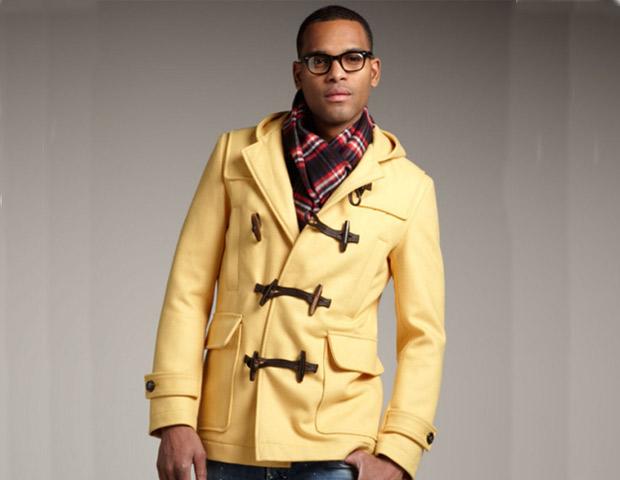 DSquared2 yellow Montgomery toggle-jacket; $1,840