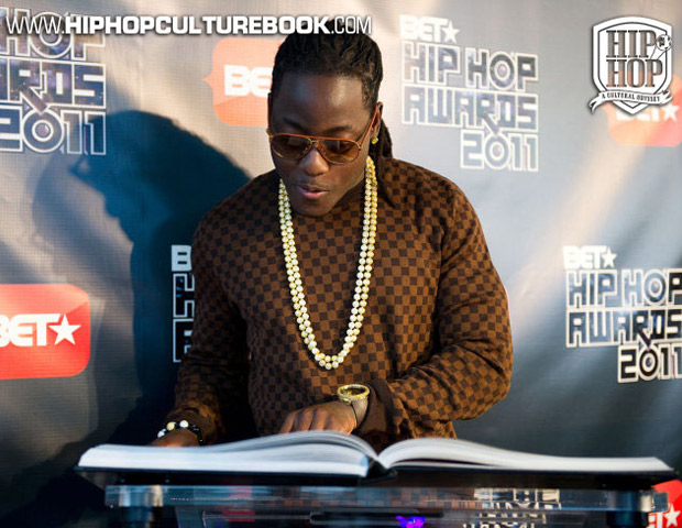 Florida rapper Ace Hood is captivated by the detail.