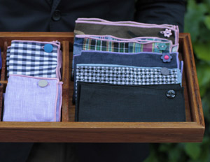 Armstrong & Wilson Reinvent the Pocket Square