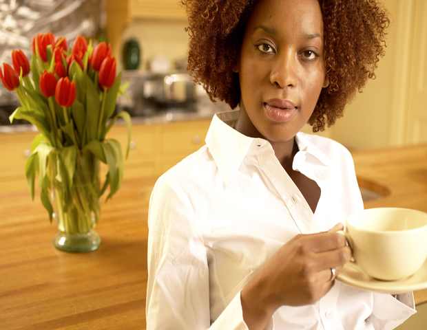 Morning drink of choice: herbal tea or a hot latte: A drink of choice for the average working individual could be a cup  of coffee laden with sugar and vanilla creamery, but other healthy  refreshments like herbal tea, water or a hot latte may be better for  those looking to fuel physically and mentally. Start the morning right  with a newspaper to take with you on the go.