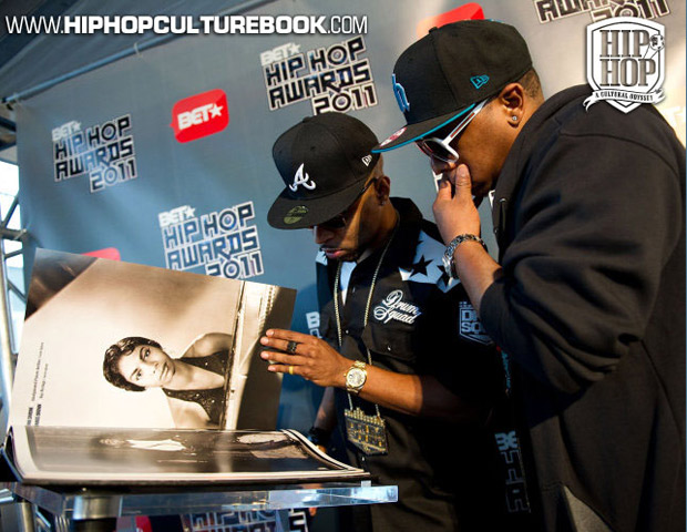 Atlanta producer Drumma Boy gets entranced by the book's depth.