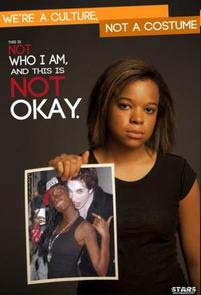 Ohio University students launched a poster campaign against racist Halloween costumes (Image: STARS)