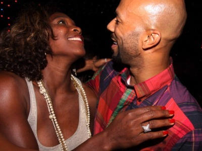 Just Right: Common and Serena Williams at the 'Just Wright' wrap party in 2009 (Image: Getty)