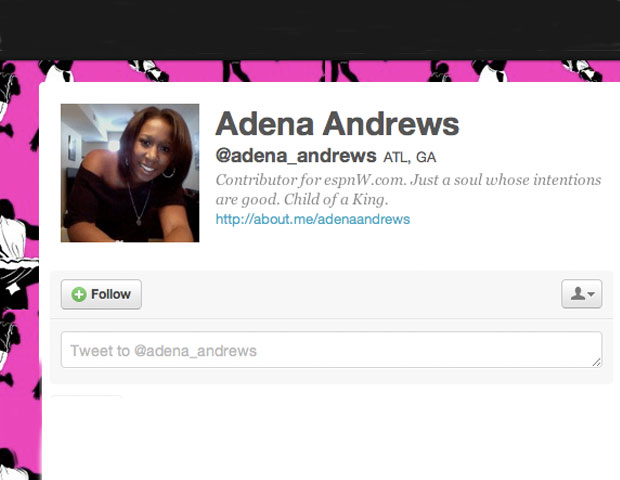 ADENA ANDREWS @Adena_Andrews