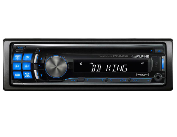 Alpine CDE-124SXM, $230