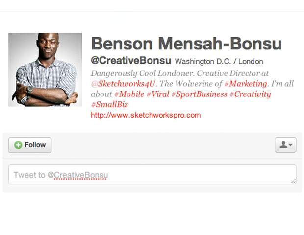 BENSON MENSAH-BONSU @CreativeBonsu